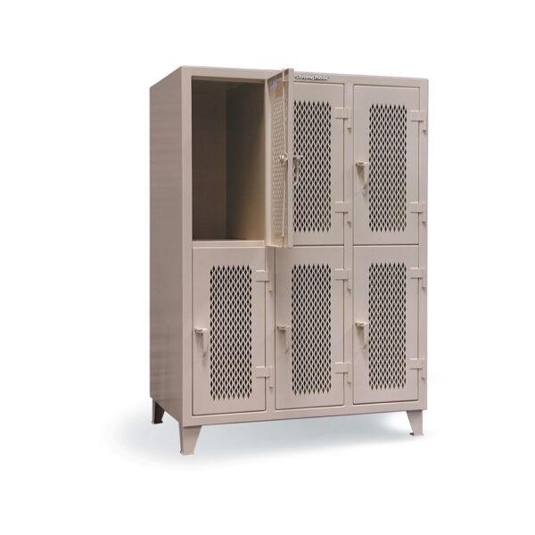 ventilated industrial locker