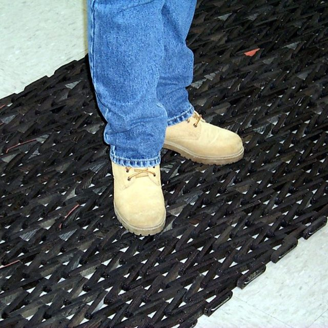 Durite Matting used in an industrial application