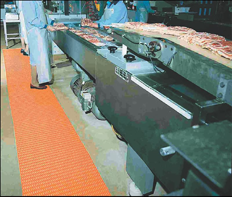 KitGr Matting in Food Packaging Factory