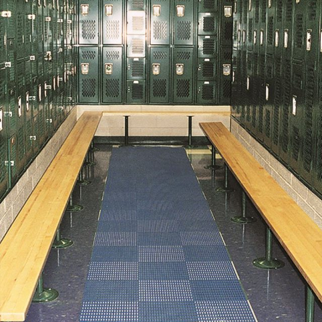 Heronair Matting in Locker Room