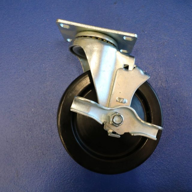 "13HR50GB8206TY 5"" X 1-1/4"" Swivel Caster"