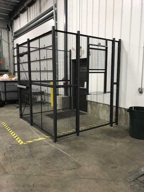 Drivers Entry Cage
