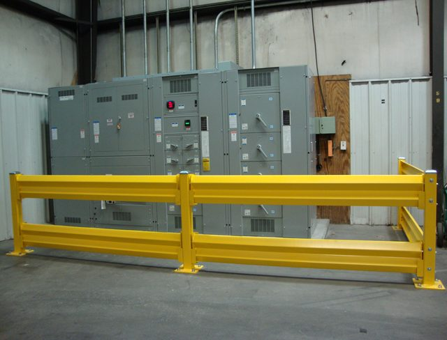 GuardRail Protecting Electrical Equipment