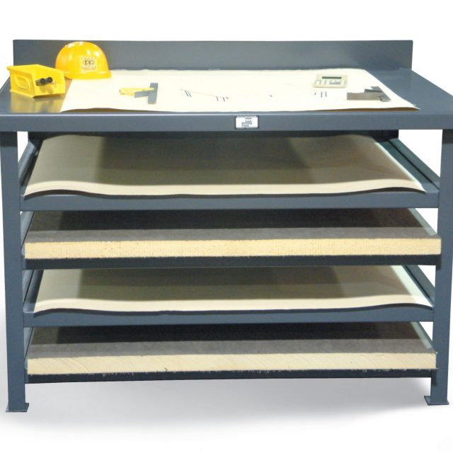 Stronghold Industrial Print Open Shelving Unit