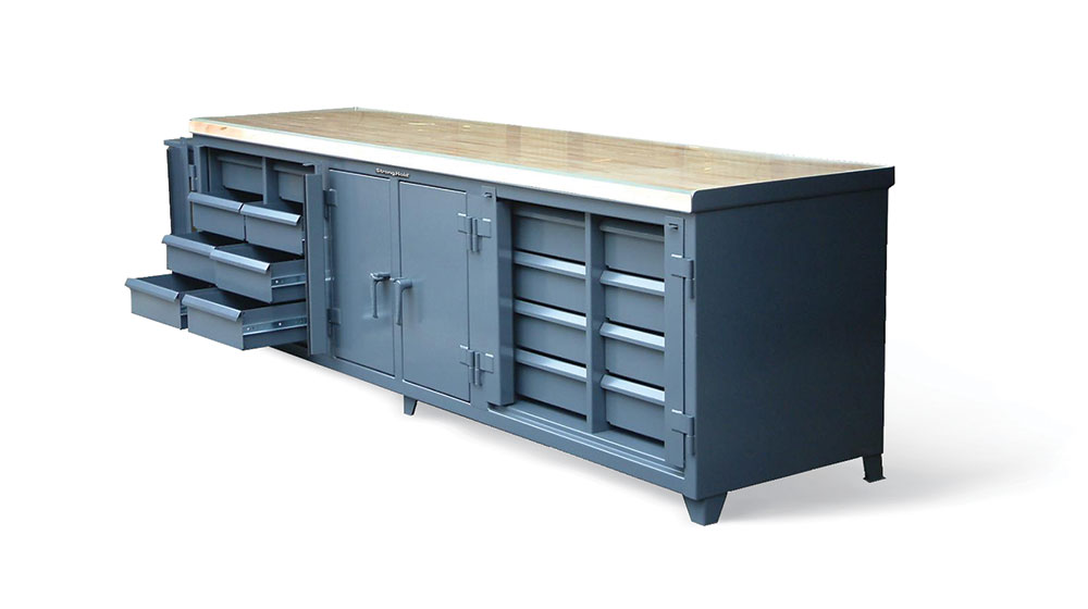 ultimate workbench with maple top