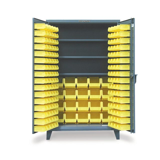 Bin Cabinet with 3 Shelves