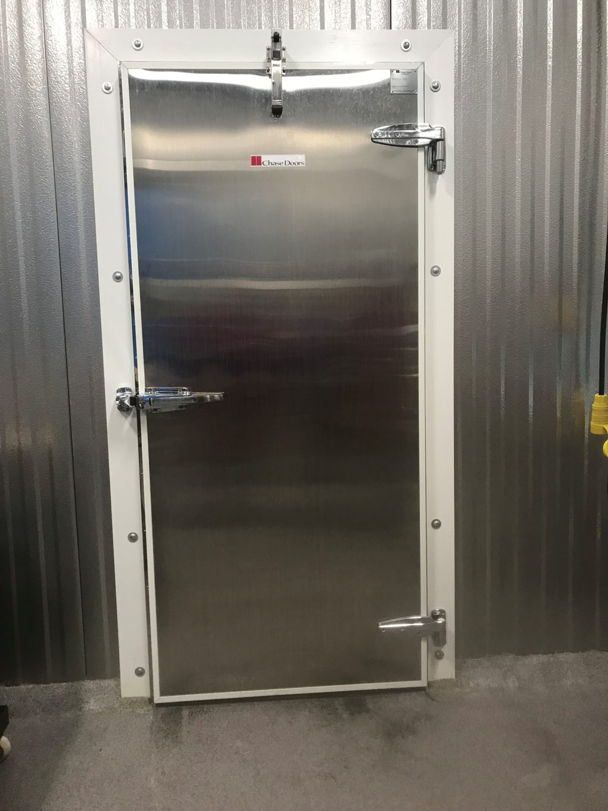 Chase Doors Cold Storage Door Front