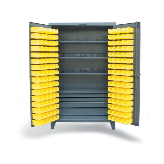 Full-Width Drawer Cabinet with Bins and Dividers