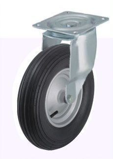 Blickle L P 200R Swivel Pneumatic Soft Solid Tire