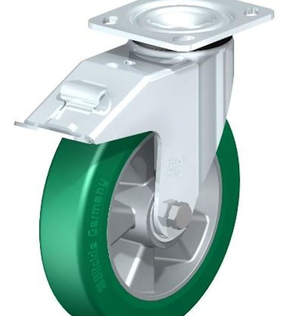 Blickle LEH ALST 200K 14 FI CO Swivel Caster with Floor Lock