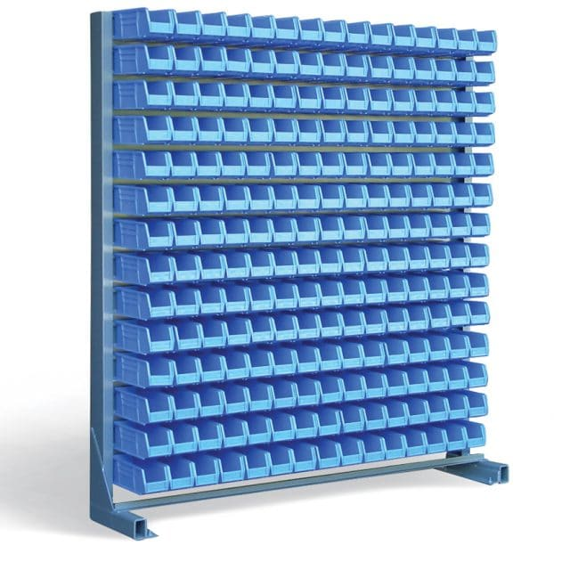 Stronghold Bin Rack with 210 Bins