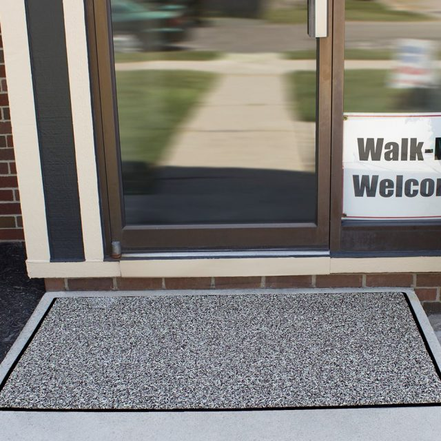 Duraloop Dual Color carpeting on Business Entry