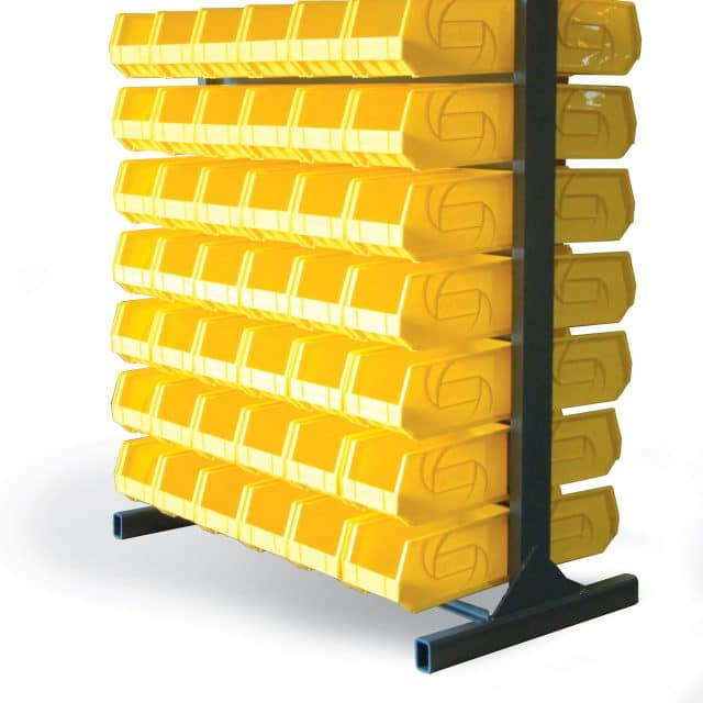 Heavy Duty Bin Rack