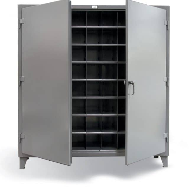 Metal Bin Storage Cabinet with 72 Openings