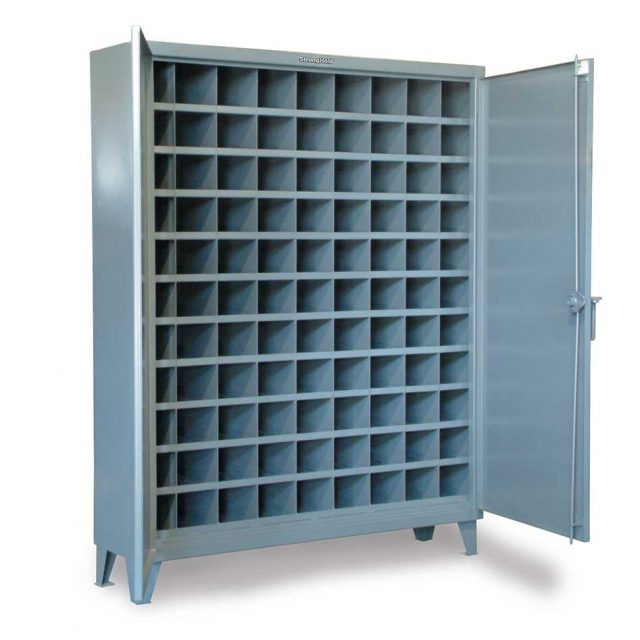 Metal bin storage with 99 Compartments