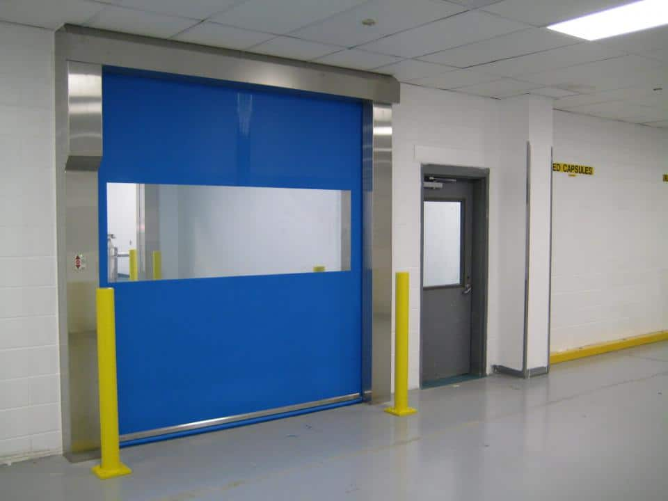 Rytec Roll up Door installed in Clean Environment
