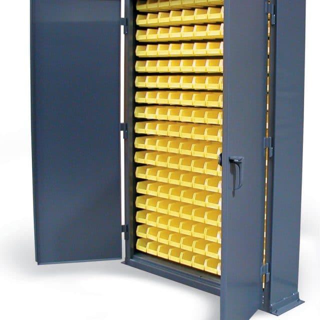 Stronghold Slim Line Bin Storage Cabinet