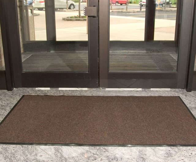 Spectra Rib Carpeting inside of double door entry