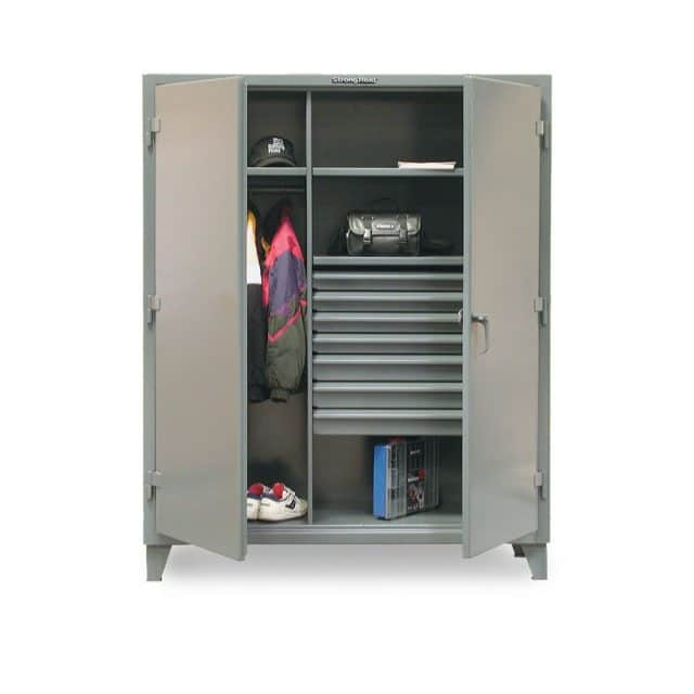 Industrial Uniform Cabinet with Seven Drawers
