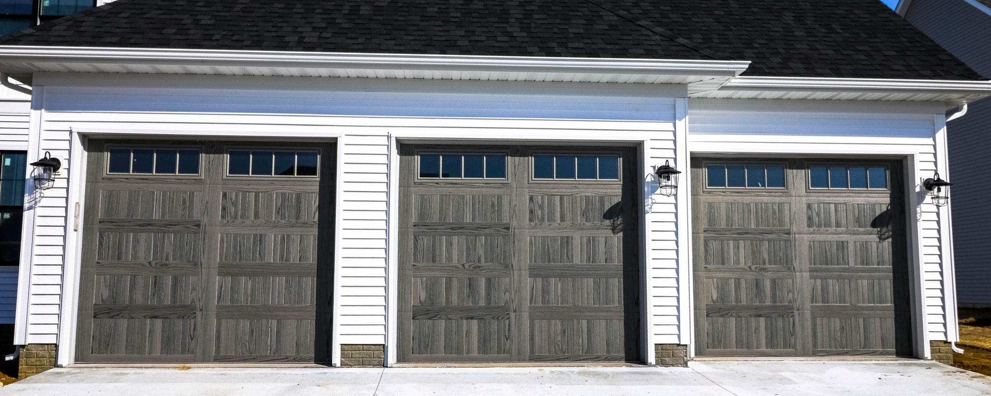 3 Residential Garage Door installs