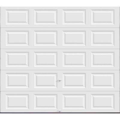Cloplay garage door white color