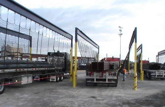 Flatbed Trailer Netting Surround