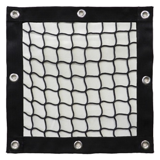 Knotless Safety Barrier Net