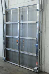 Roll Up Expanded Metal Security Door