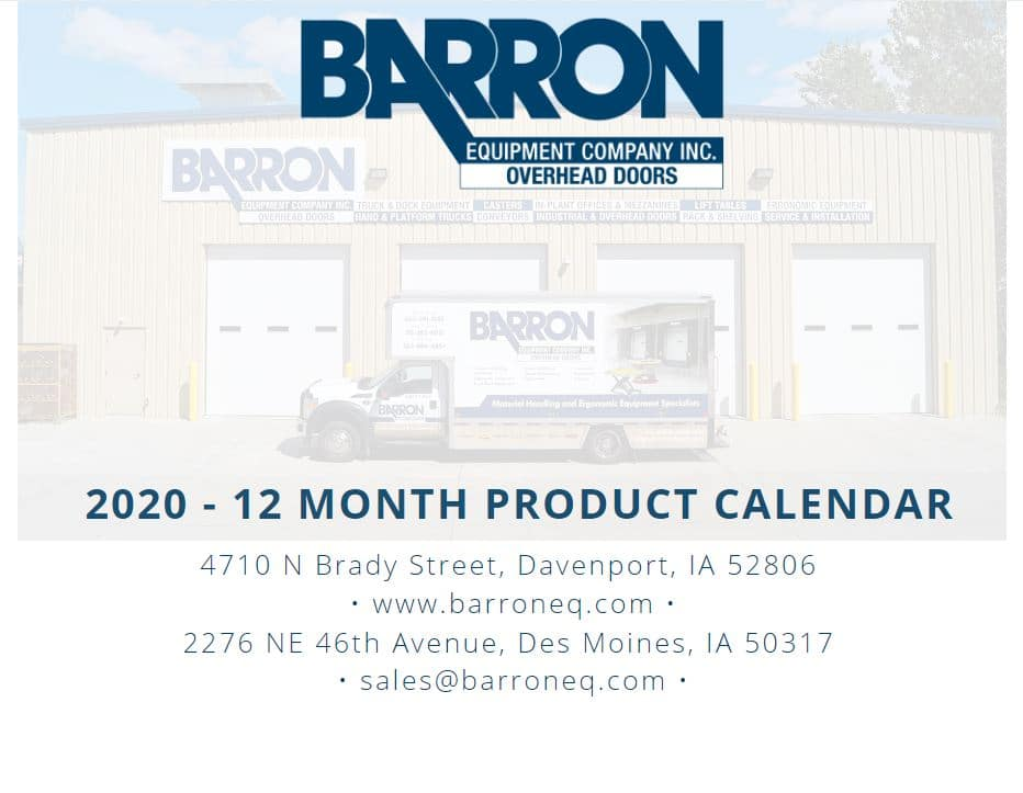 Product Calendar Image