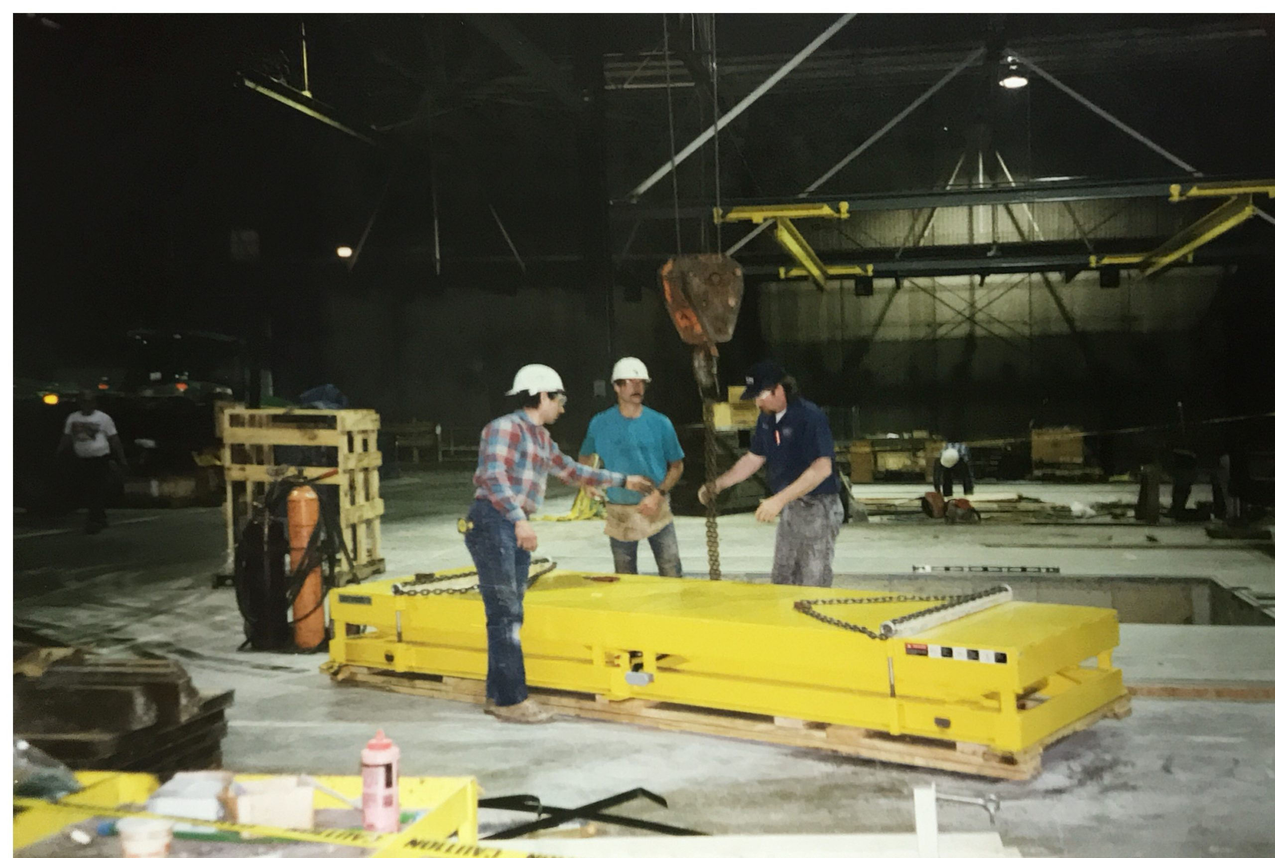Installing a Pit Mounted Lift Table