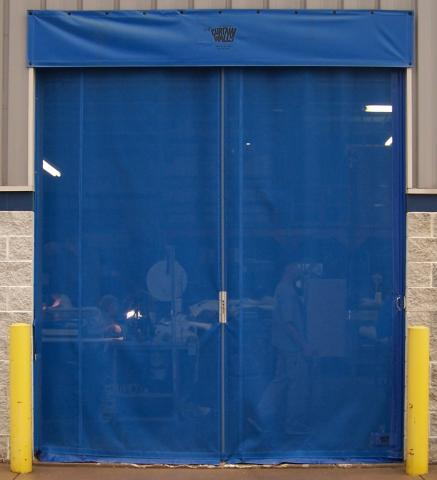 Mesh Side Seal Doors