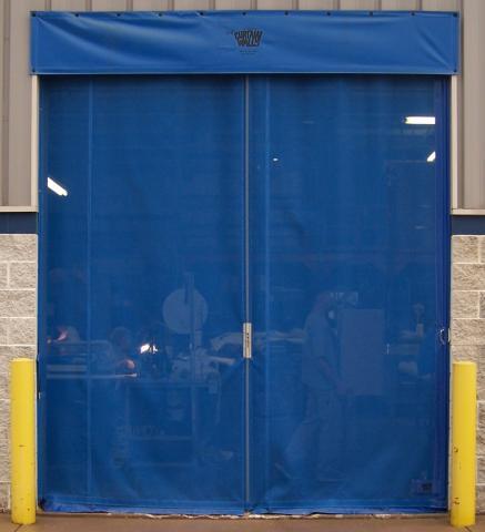 Mesh Side Seal Doors