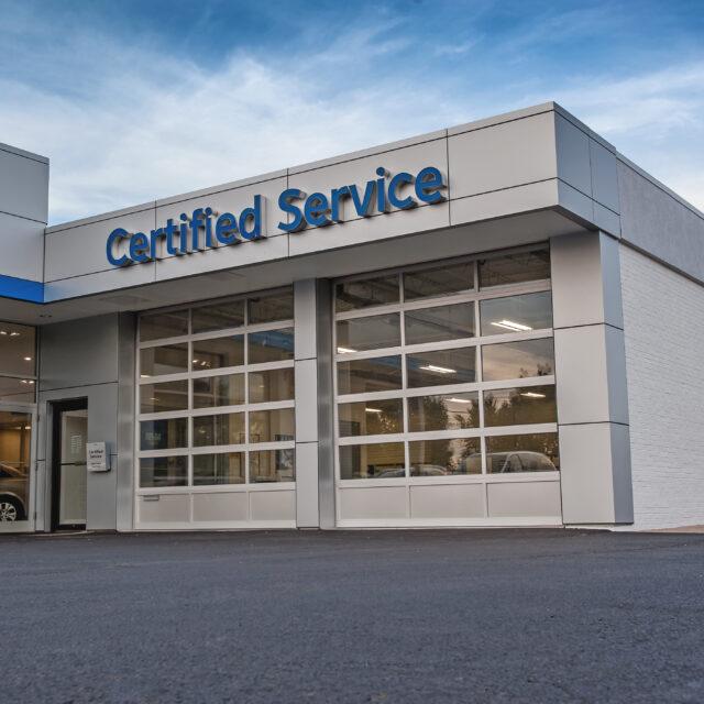 Service Full View Overhead Door