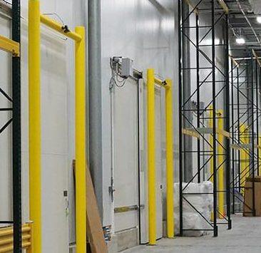 Loading Dock Guardrails and Bollards