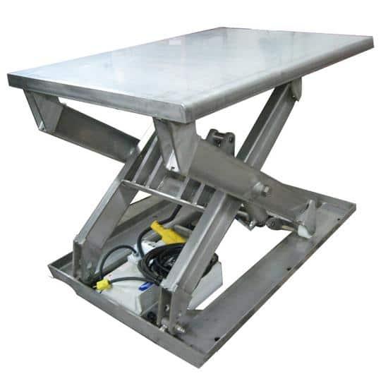 Stainless Steel Ergonomic Lift Table