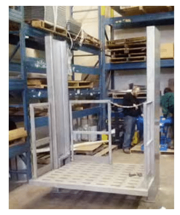 Stainless Steel Air Powered Work Positioner