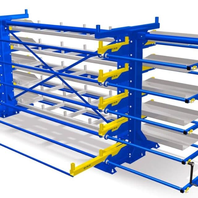 Roll Out Cantilever
